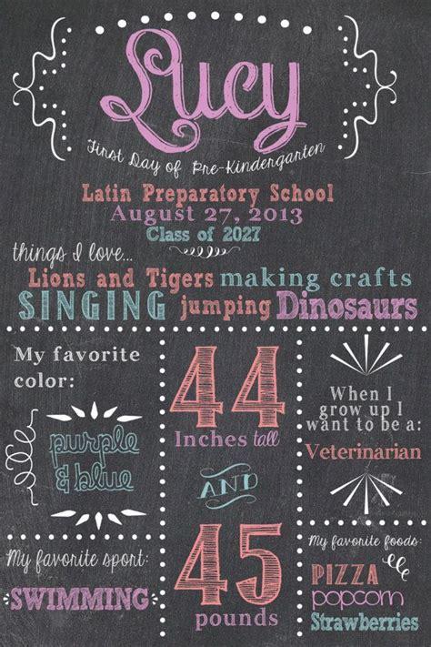 first day of school chalkboard day of school day of school signs chalkboard