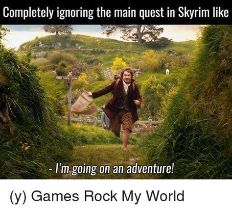 Meme Quest - funny skyrim memes of 2017 on sizzle 9gag
