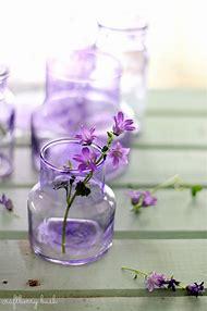 Purple Glass Bottles