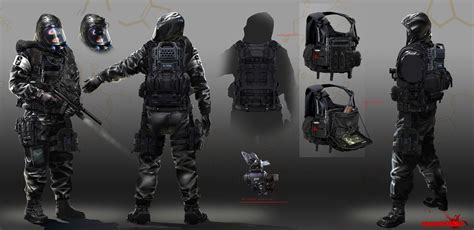 Artstation Rainbow Six Siege Hazmat Concept Arman