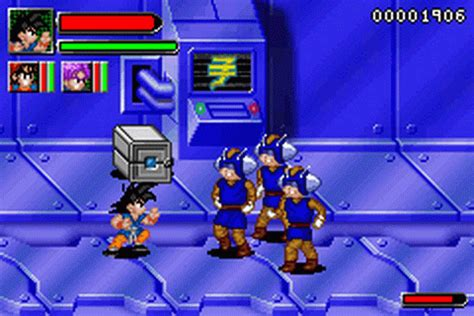 game dragon ball gba