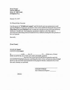 power of attorney letter for child free printable documents With the power of attorney letter sample