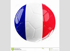 Soccerball Of France Royalty Free Stock Photography