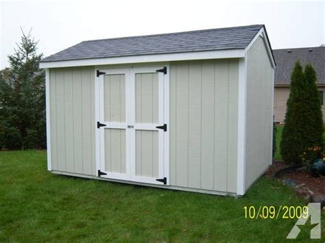 12 x 8 storage shed for sale in prairie grove illinois