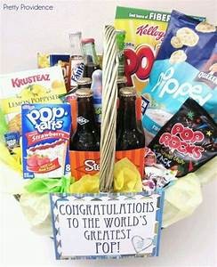 "New ""Pop"" Gift Basket 