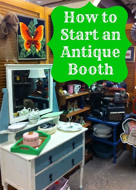 1000 ideas about antique mall booth on
