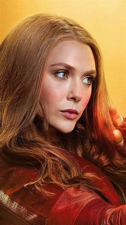 Witch Scarlet Elizabeth Wallpapers Olsen Feiticeira Avengers
