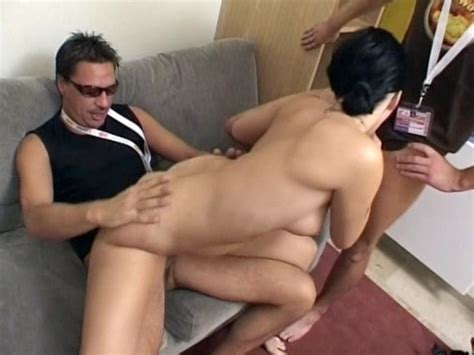 german girl in glasses gets fucked good by two guys free porn videos youporn