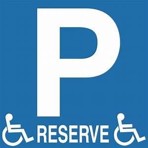 Panneau Stationnement Handicapé : panneau pvc parking r serv handicap vente en ligne de signal tique de stationnement promociel ~ Medecine-chirurgie-esthetiques.com Avis de Voitures
