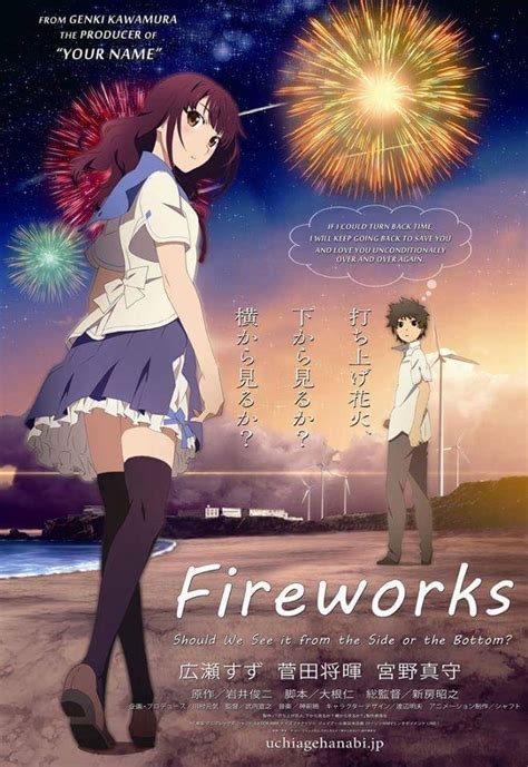 anime movie cinema list of cinemas showing quot fireworks quot anime film animeph