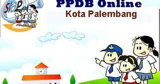 pendaftaran ppdb  kota palembang