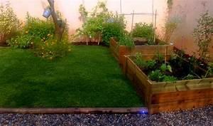 Creation Potager Surélevé : cr ation de jardin contemporain marseille aix en provence ~ Premium-room.com Idées de Décoration
