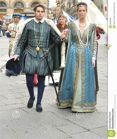 Reenactment Medieval Italy Couple Medievali Italia Rimessa