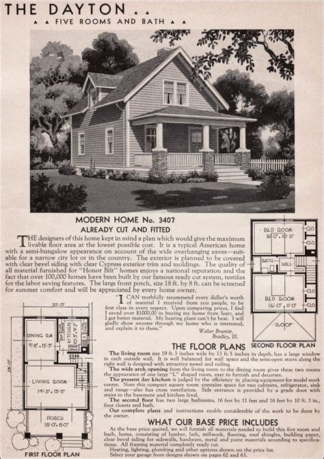 sears homes floor plans 77 best sears kit houses images on craftsman