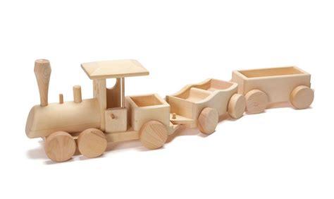wooden train engine car set  toy vehicles nova