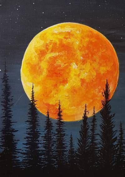 pin  paint nite fall paintings