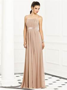 Champagne Color Bridesmaid Dresses Strapless Champagne ...