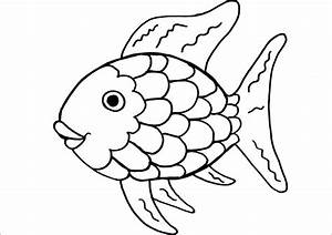 Rainbow Fish Coloring Pages Print - Coloring Page KIDS