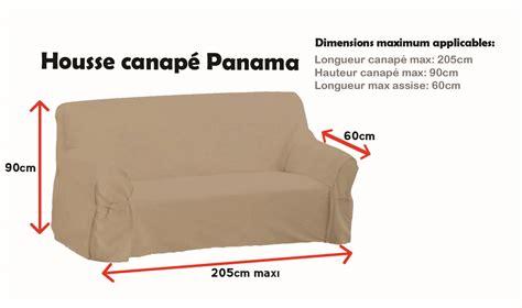 housse de canapé but housse de canapé panama 3 places les douces nuits