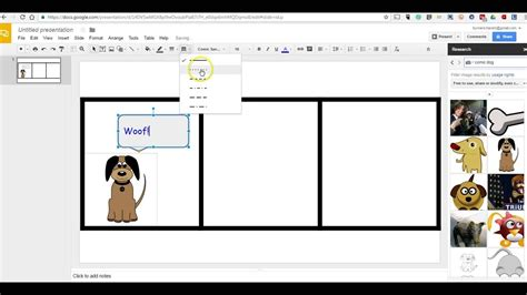 How To Create Comic Strips In Google Slides