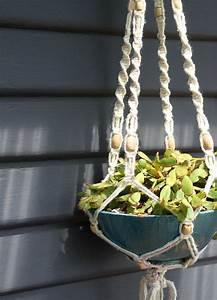 Suspension Pour Plante : pot suspendu macram pour fleurs et plantes en suspension ~ Premium-room.com Idées de Décoration