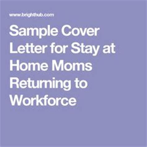 sample resume  stay  home mom returning  work