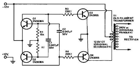 Vdc Vac Inverter Circuit Diagram Pdf