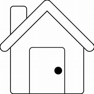 House Outline Template | Clipart Panda - Free Clipart Images