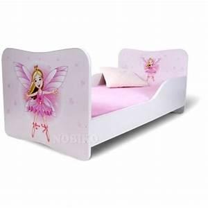 lit fille avec barriere With déco chambre bébé pas cher avec sac herschel fleur