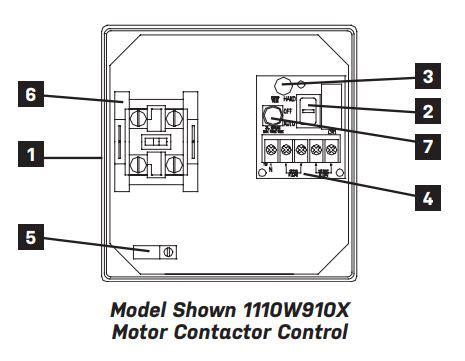 240 Vac Contactor Wiring by Sje Rhombus Sje Rhombus Model 111 Simplex Single Phase
