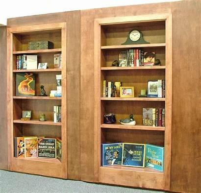 Door Hidden Hardware Bookcase Secret Bookshelf Doors