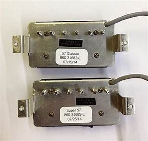 Gibson  U0026 39 57 Classic  Neck   U0026 Super  U0026 39 57  Bridge  Pickups