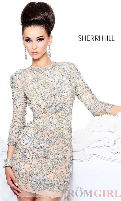 Embellished Long Sleeve Dress Party Dresses Etc