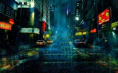 street  rain wallpaper  rain pinterest