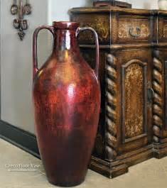 floor decor vases tall greco floor vase at accents of salado tuscan decor