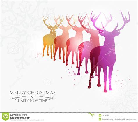 merry christmas contemporary ideas stock vector
