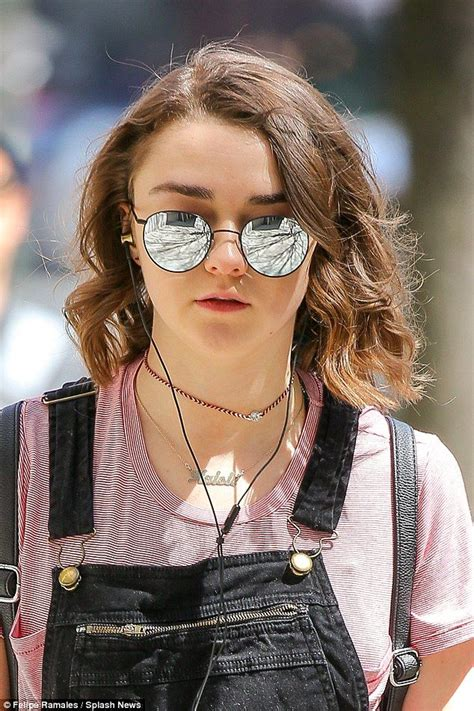 Best Images About Maisie Williams Pinterest Red