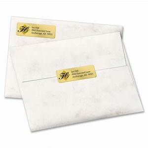 Avery gold foil mailing label ld products for Gold foil mailing labels
