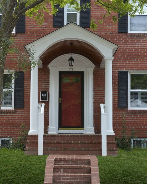colonial front porch designs front porches and porticos traditional porch dc