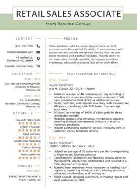 cashier resume sample writing guide resume genius
