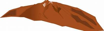 Mountain Clip Clipart Mountains Range Animated Outline