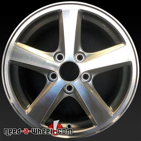 16 quot honda accord wheels oem 2003 05 machined rims 63857