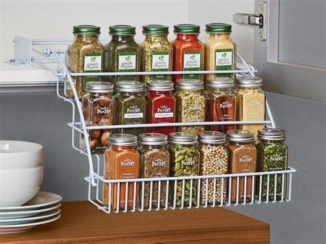 creative spice storage ideas kitchen storage hacks spice storage cheap kitchen cabinets
