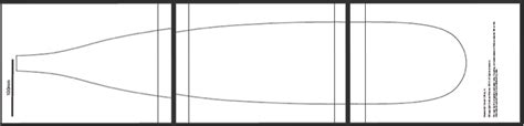 paddle template paddle board plans pdf free software picsletitbit