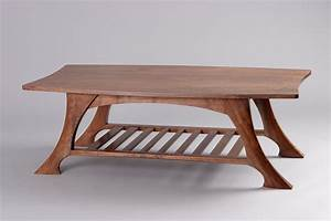 Casa Grande Coffee Table Black Walnut Solid Wood - Seth