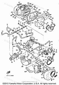 Yamaha Motorcycle 1986 Oem Parts Diagram For Air Filter