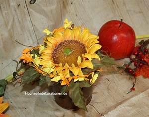 Sonnenblume Im Topf : topf mit sonnenblume tischdeko hochzeitsdekorationen ~ Orissabook.com Haus und Dekorationen