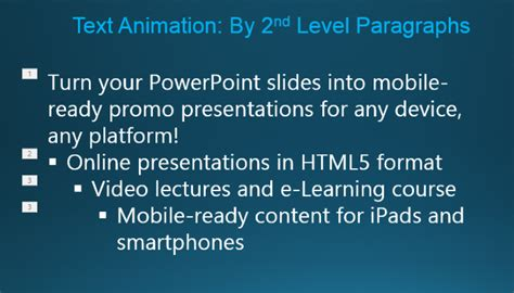 the secrets of cool animated text in powerpoint