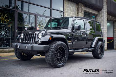 jeep wrangler   black rhino el cajon wheels