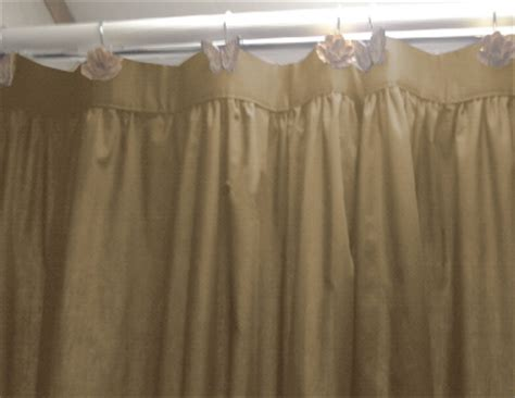 solid taupe khaki colored shower curtain